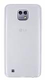 Eiroo LG X cam Ultra İnce Şeffaf Silikon Kılıf