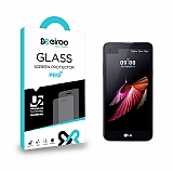 Eiroo LG X screen Tempered Glass Cam Ekran Koruyucu