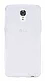 LG X screen Ultra İnce Şeffaf Silikon Kılıf