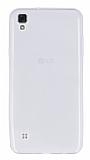 LG X Style Ultra İnce Şeffaf Silikon Kılıf