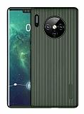 Eiroo Line Huawei Mate 30 Pro Yeşil Silikon Kılıf