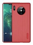 Eiroo Line Huawei Mate 30 Pro Kırmızı Silikon Kılıf