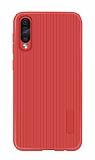 Eiroo Line Huawei P Smart Pro 2019 Kırmızı Silikon Kılıf