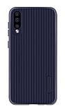Eiroo Line Huawei P Smart Pro 2019 Lacivert Silikon Kılıf