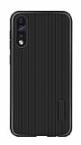 Eiroo Line Huawei P Smart Pro 2019 Siyah Silikon Kılıf