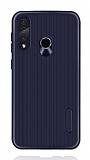 Eiroo Line Huawei P30 Lite Lacivert Silikon Kılıf