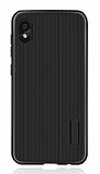 Eiroo Line Huawei Y5 2019 Siyah Silikon Kılıf