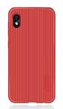 Eiroo Line Huawei Y5 2019 Kırmızı Silikon Kılıf