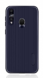 Eiroo Line Huawei Y7 Prime 2019 Lacivert Silikon Kılıf