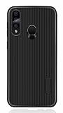 Eiroo Line Samsung Galaxy A60 Siyah Silikon Kılıf