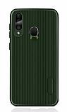Eiroo Line Samsung Galaxy A60 Yeşil Silikon Kılıf