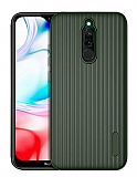 Eiroo Line Xiaomi Redmi 8 Yeşil Silikon Kılıf
