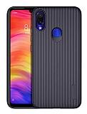 Eiroo Line Xiaomi Redmi Note 7 Lacivert Silikon Kılıf