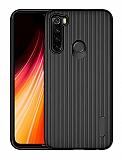 Eiroo Line Xiaomi Redmi Note 8 Siyah Silikon Kılıf