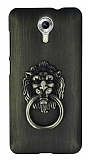 Eiroo Lion Ring General Mobile Android One / General Mobile GM 5 Selfie Yüzüklü Yeşil Rubber Kılıf