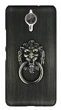 Eiroo Lion Ring General Mobile GM 5 Plus Selfie Yüzüklü Yeşil Rubber Kılıf