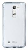 Eiroo Liquid Hybrid LG G4c Siyah Kenarlı Şeffaf Silikon Kılıf