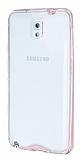 Eiroo Liquid Hybrid Samsung N9000 Galaxy Note 3 Rose Gold Kenarl� �effaf Silikon K�l�f