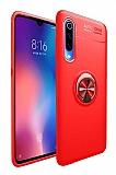 Eiroo Liquid Ring Xiaomi Mi A3 Kırmızı Silikon Kılıf