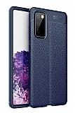 Dafoni Liquid Shield Samsung Galaxy S20 FE Ultra Koruma Lacivert Kılıf