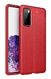 Dafoni Liquid Shield Samsung Galaxy S20 FE Ultra Koruma Kırmızı Kılıf