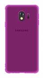 Eiroo Lucent Samsung Galaxy J4 Ultra Koruma Mor Kılıf