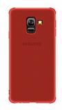 Eiroo Lucent Samsung Galaxy J6 Ultra Koruma Kırmızı Kılıf