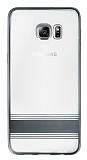 Eiroo Magical Nickel Samsung Galaxy S6 Edge Plus G�m�� �izgili �effaf Silikon K�l�f