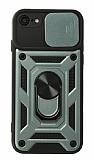 Eiroo Magnet Lens iPhone 7 / 8 Ultra Koruma Yeşil Kılıf