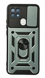 Eiroo Magnet Lens Oppo A15 / A15s Ultra Koruma Yeşil Kılıf
