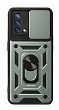 Eiroo Magnet Lens Oppo F19 Ultra Koruma Yeşil Kılıf