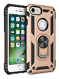 Eiroo Magnet Ring iPhone SE / 5 / 5S Ultra Koruma Gold Kılıf
