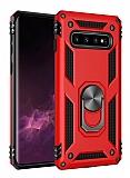 Eiroo Magnet Ring Samsung Galaxy Note 8 Ultra Koruma Kırmızı Kılıf