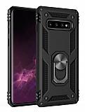 Eiroo Magnet Ring Samsung Galaxy Note 8 Ultra Koruma Siyah Kılıf