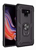 Eiroo Magnet Ring Samsung Galaxy Note 9 Ultra Koruma Siyah Kılıf