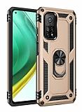 Eiroo Magnet Ring Xiaomi Mi 10T Pro 5G Ultra Koruma Gold Kılıf