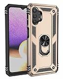 Eiroo Magnet Ring Samsung Galaxy A32 5G Ultra Koruma Gold Kılıf