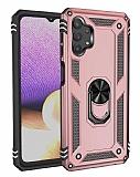 Eiroo Magnet Ring Samsung Galaxy A32 5G Ultra Koruma Rose Gold Kılıf
