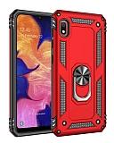 Eiroo Magnet Ring Xiaomi Redmi 7A Ultra Koruma Kırmızı Kılıf