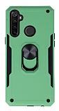 Eiroo Magnet Ring Xiaomi Redmi Note 8T Ultra Koruma Yeşil Kılıf