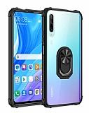 Eiroo Magnetics Huawei P Smart Pro 2019 Ultra Koruma Siyah Kılıf