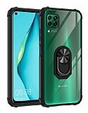 Eiroo Magnetics Huawei P40 Lite Ultra Koruma Siyah Kılıf