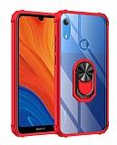 Eiroo Magnetics Huawei Y6S 2019 Ultra Koruma Kırmızı Kılıf