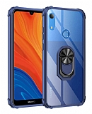 Eiroo Magnetics Huawei Y6S 2019 Ultra Koruma Lacivert Kılıf