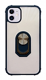 Eiroo Magnetics iPhone 11 Ultra Koruma Lacivert Kılıf