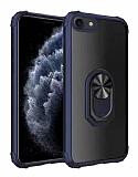 Eiroo Magnetics iPhone 7 / 8 Ultra Koruma Lacivert Kılıf
