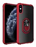 Eiroo Magnetics iPhone XS Max Ultra Koruma Kırmızı Kılıf