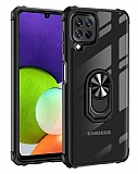 Eiroo Magnetics Samsung Galaxy M32 Ultra Koruma Siyah Kılıf