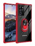 Eiroo Magnetics Samsung Galaxy Note 20 Ultra Süper Koruma Kırmızı Kılıf