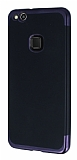 Eiroo Matte Fit Huawei P10 Lite Siyah Kenarlı Siyah Silikon Kılıf